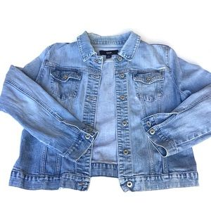 Gap Light Wash Denim Jacket